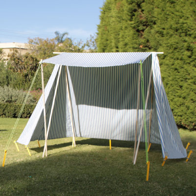 Blue Sun Tent – Beach Shade